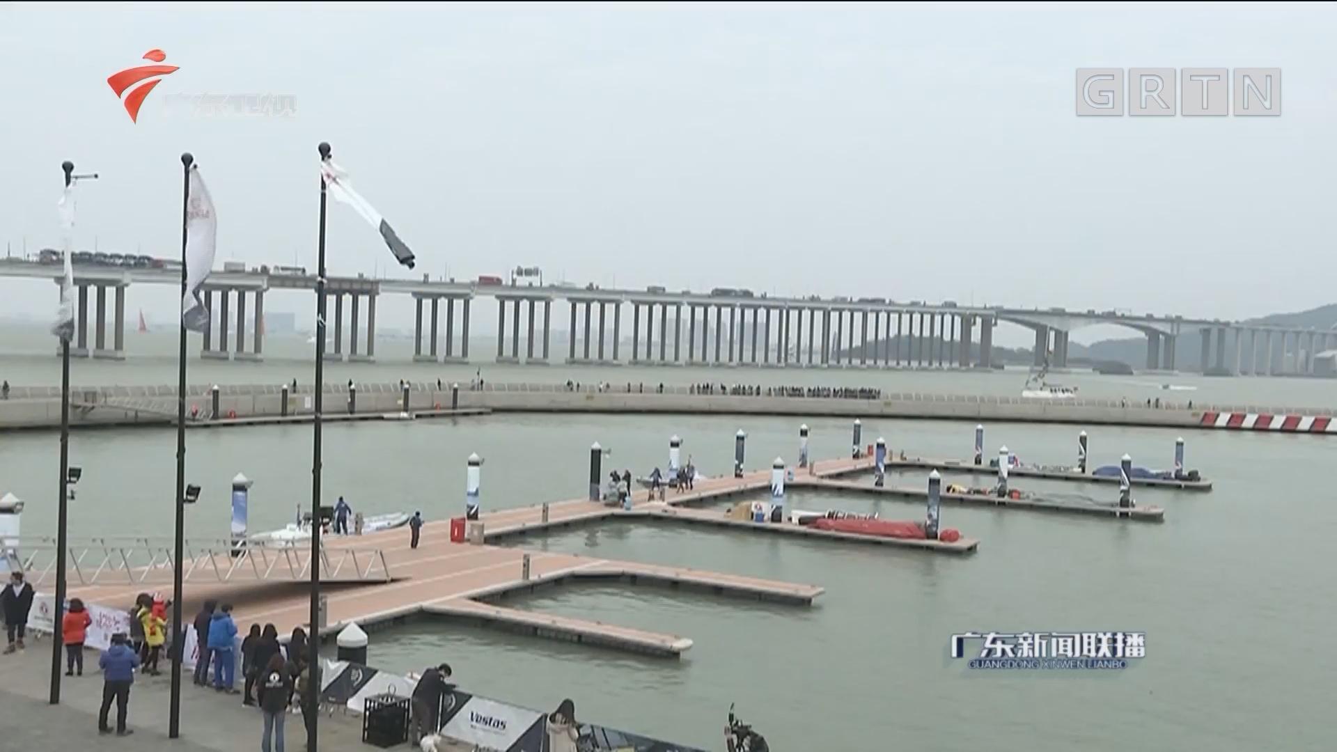 广州南沙迎世界顶级帆船赛事