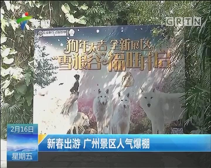 新春出游 广州景区人气爆棚