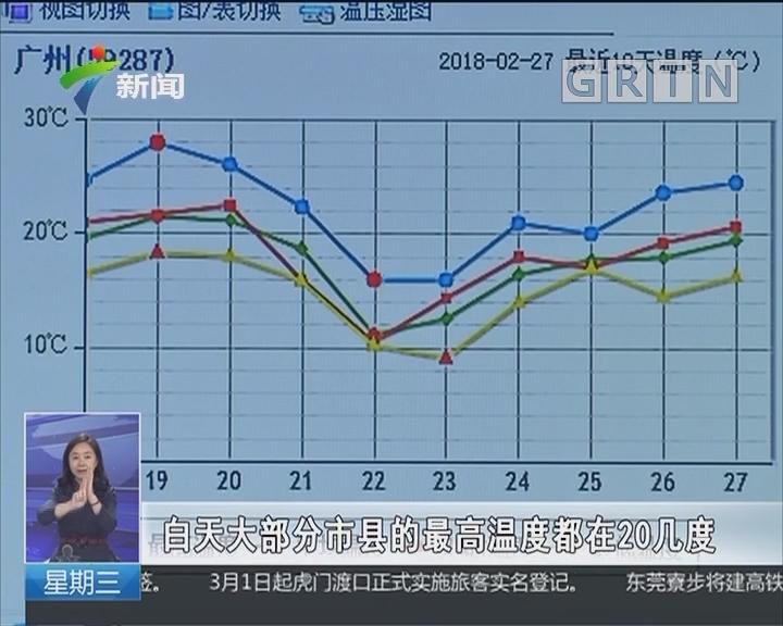 广东:未来三天阴有阵雨 回南天来了吗?