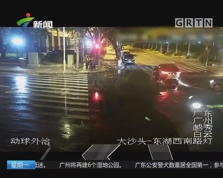 女司机驾无牌车撞的士 拖行碾压的哥后逃逸