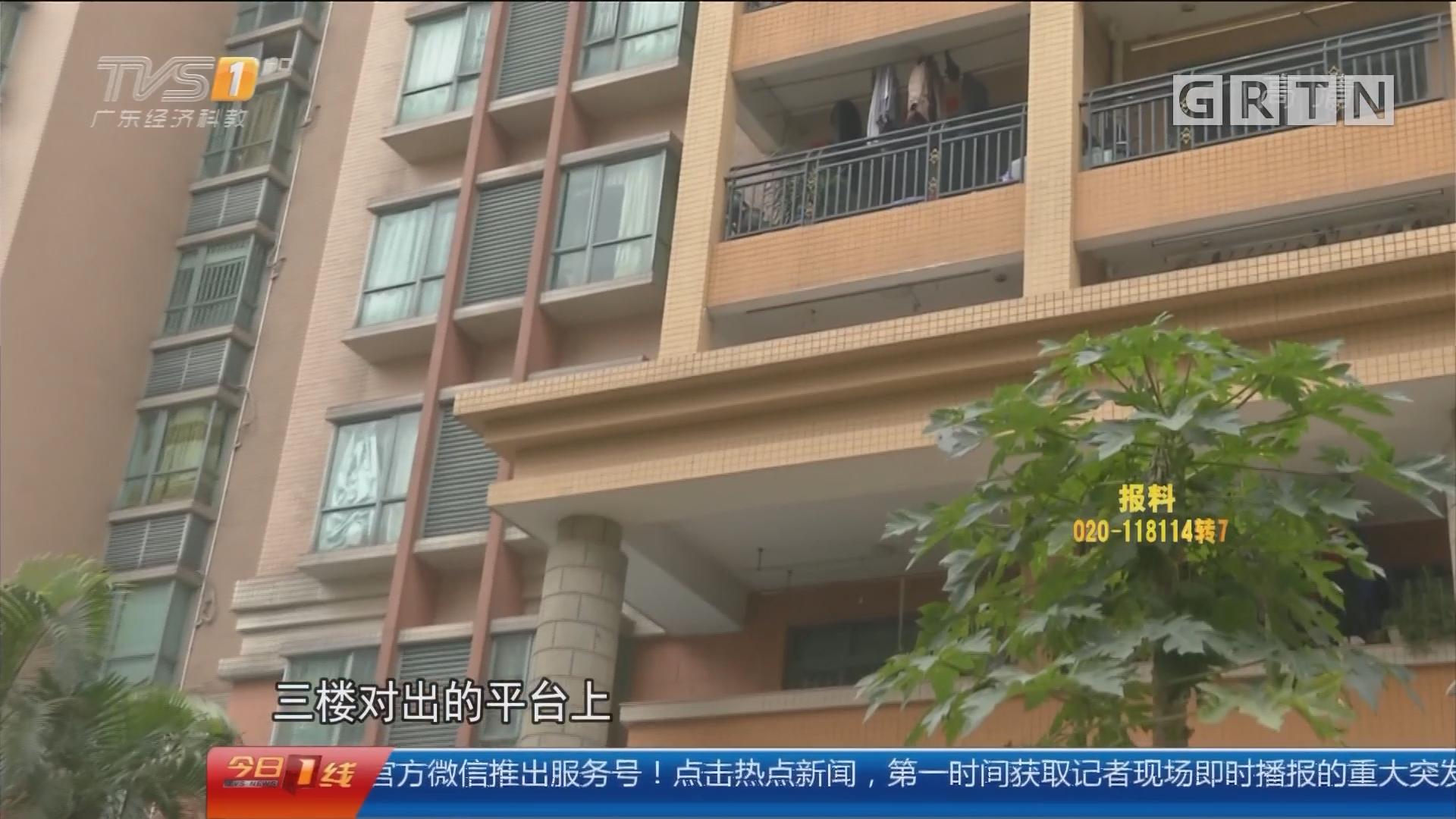 关注寒假安全:中山 男童翻越自家阳台护栏 从七楼坠落
