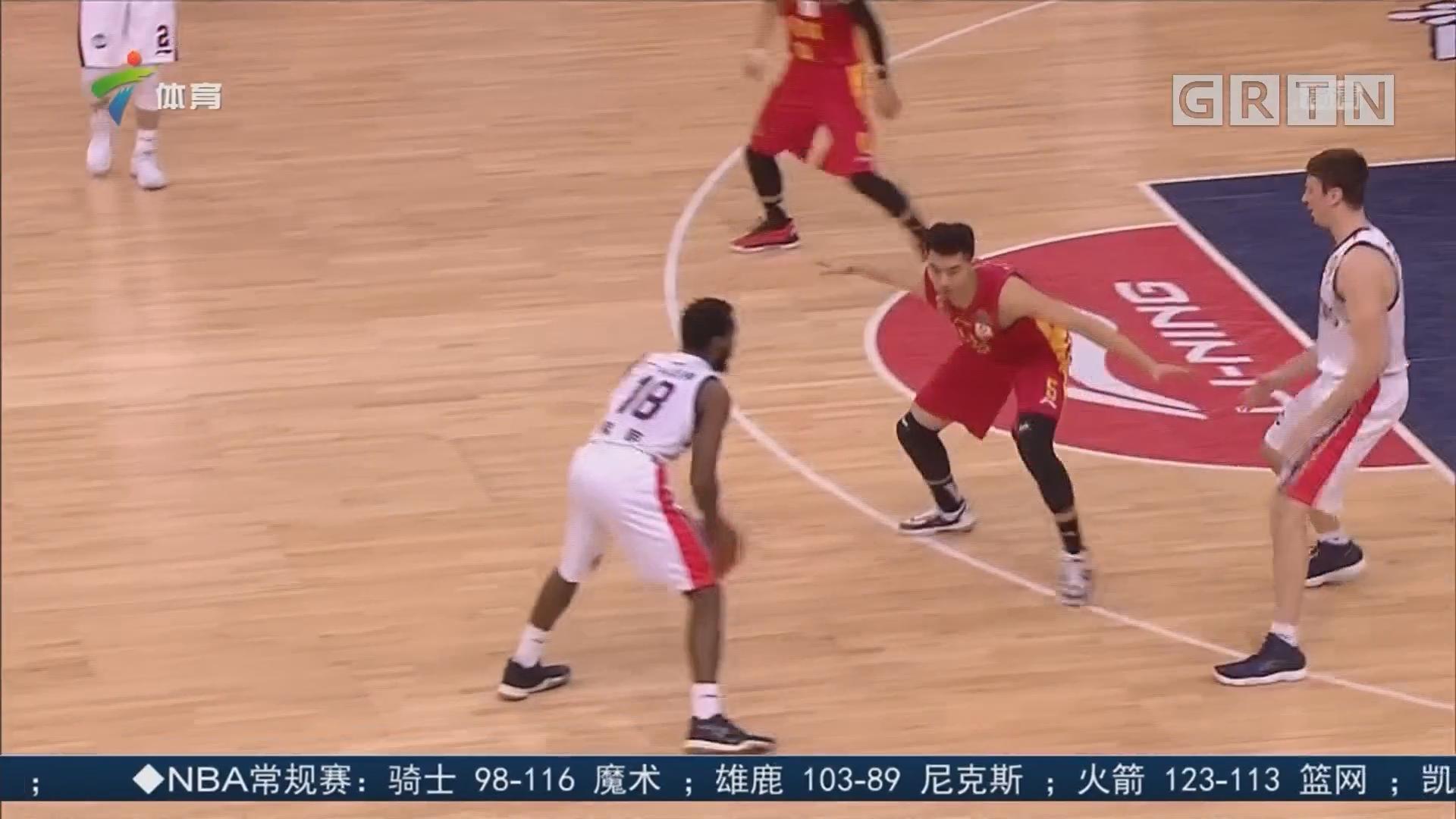 广州龙狮队史首次杀入季后赛