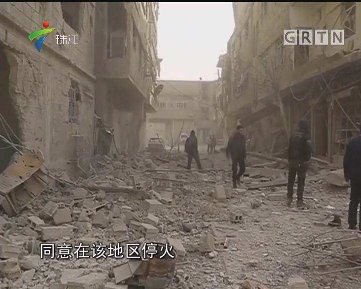 叙利亚反政府武装炮击大马士革致5人丧生