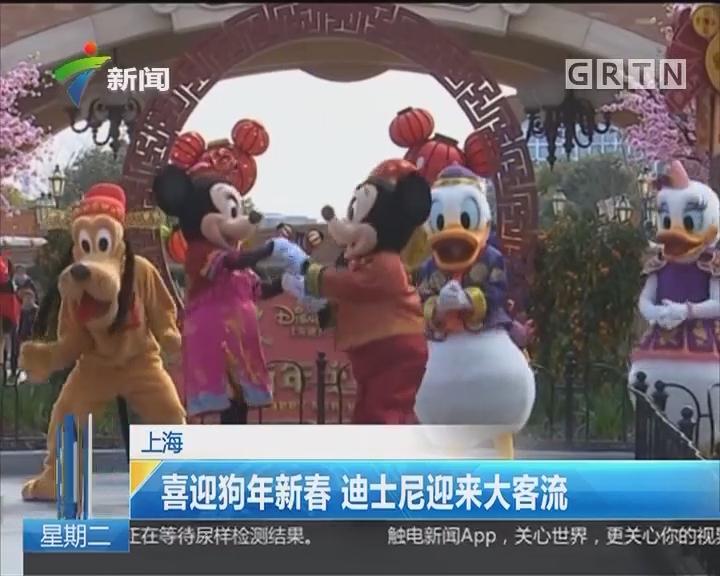 上海:喜迎狗年新春 迪士尼迎来大客流