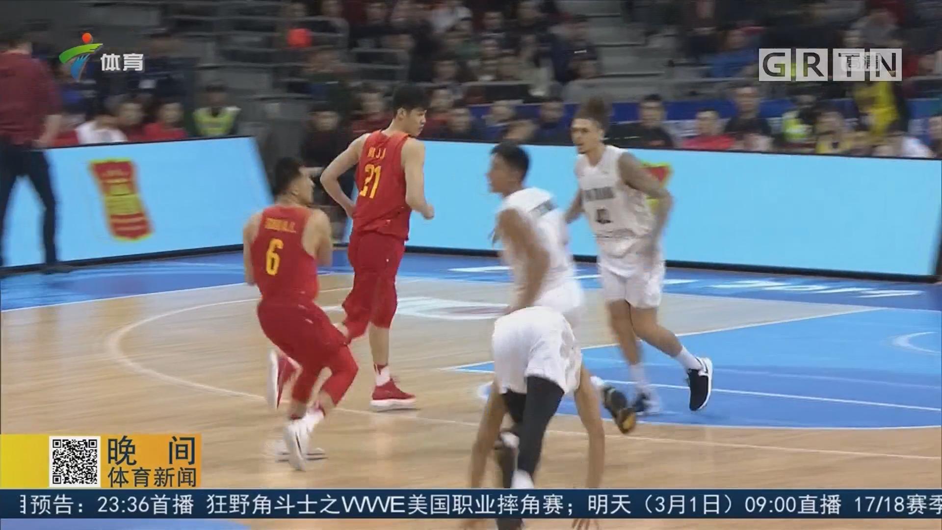 从世预赛看中国男篮的不足
