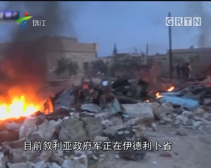 俄军苏—25战机在叙利亚被击落