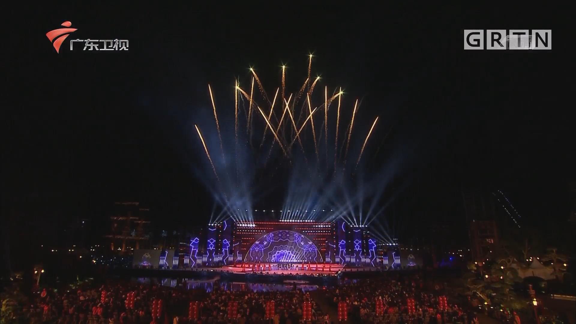 央视今晚播出春节联欢晚会广东春节分会场节目《祝福新时代》
