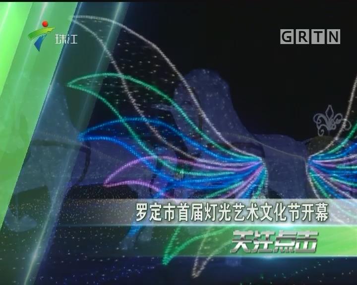 罗定市首届灯光艺术文化节开幕