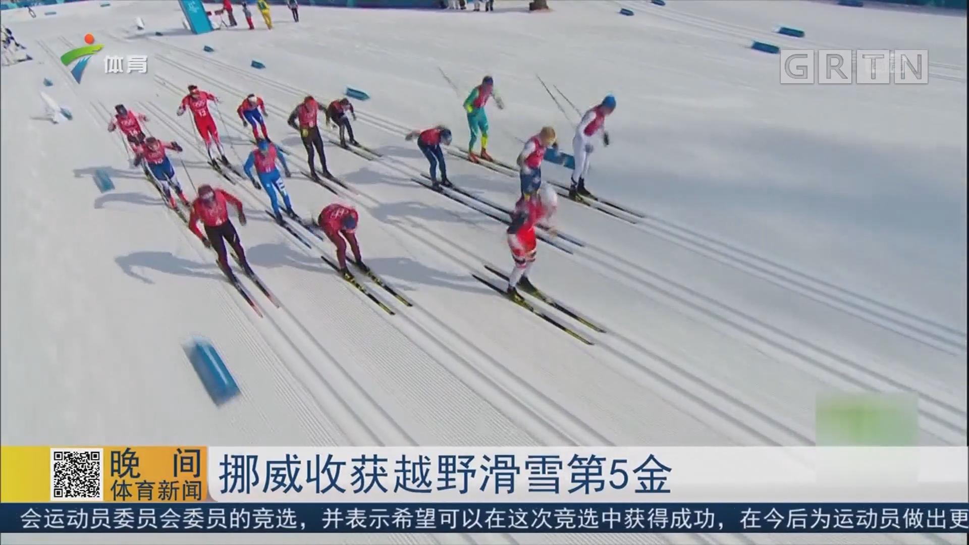 挪威收获越野滑雪第5金