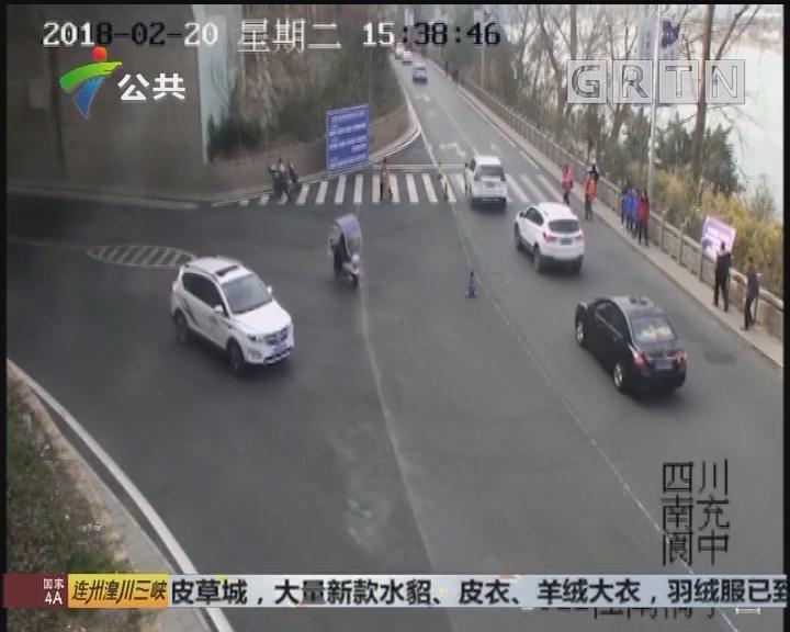 拖行交警数十米 野蛮司机被刑拘