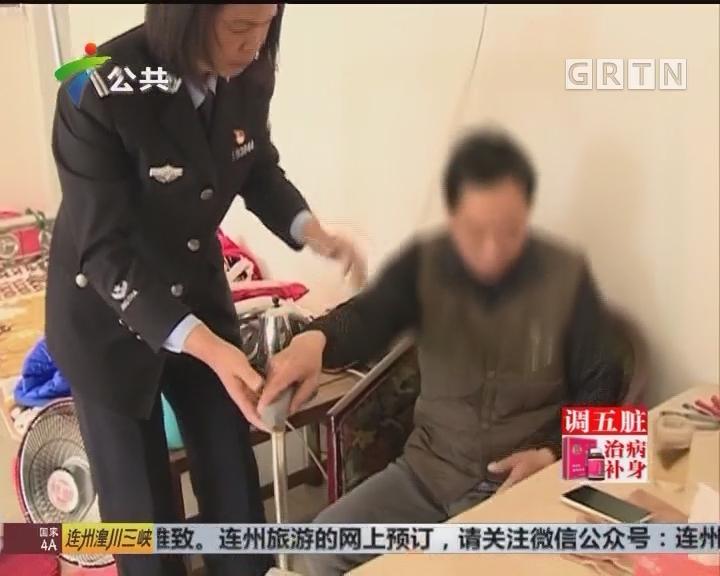 """新春佳节不""""打烊"""" 民警上门帮扶""""特殊客户"""""""