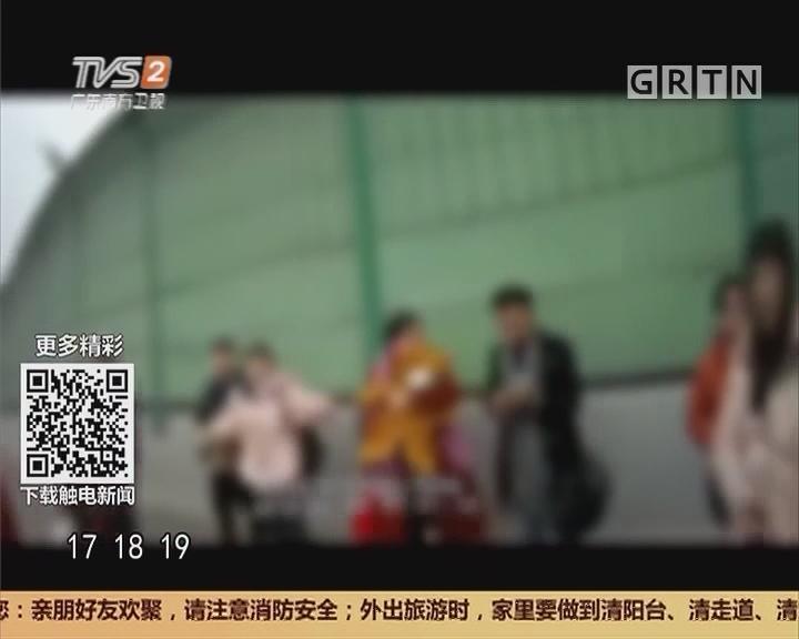 广州:非法改装 两排座位加到六排