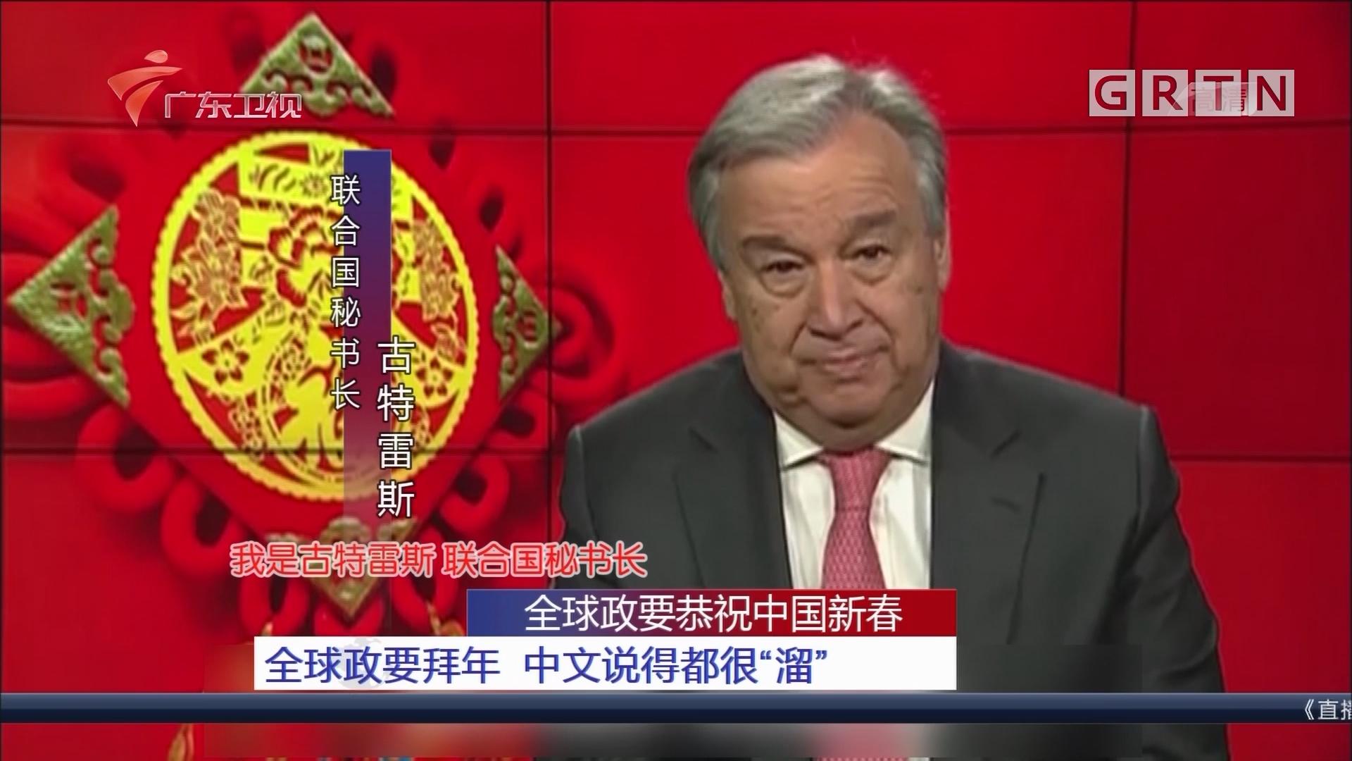 """全球政要恭祝中国新春:全球政要拜年 中文说得都很""""溜"""""""