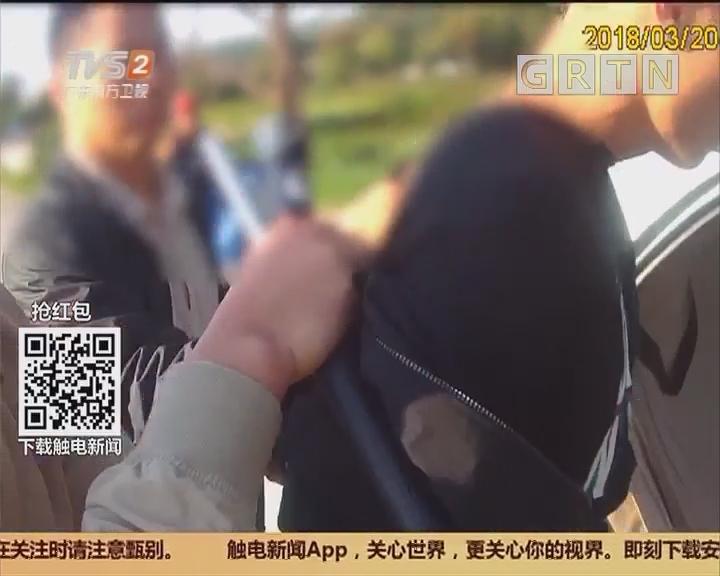 """创建平安广东:江门鹤山 刚拆钢板即行窃 """"敬业""""毛贼难逃法网"""