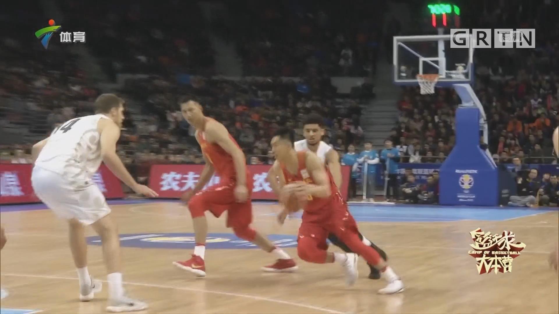 世预赛中国男篮以赛代赛 一胜一负显不足