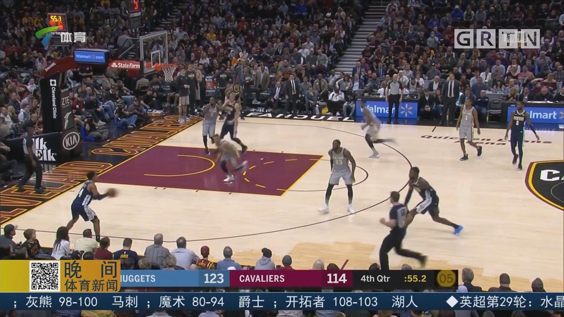 NBA实力榜:火箭居榜首 骑士再跌两位
