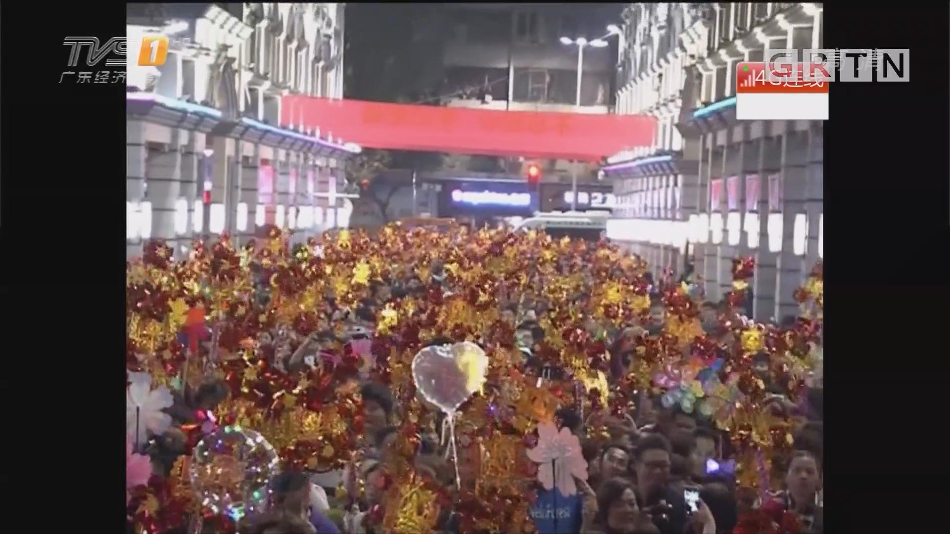 佛山:数十万街坊行通济 祈愿国泰民安