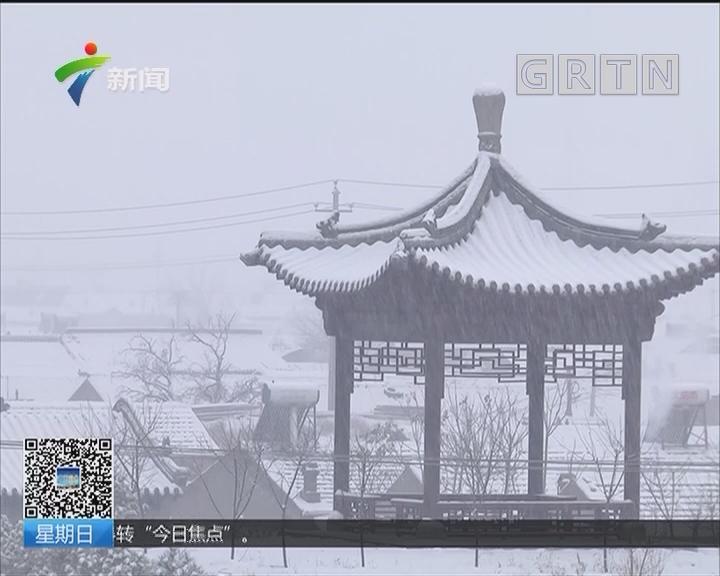 北方降雪:京津翼地区普降雨雪