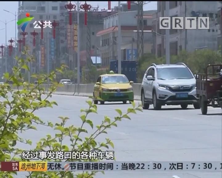 惠州:摩托车与小车碰撞 商户纷纷伸出援手