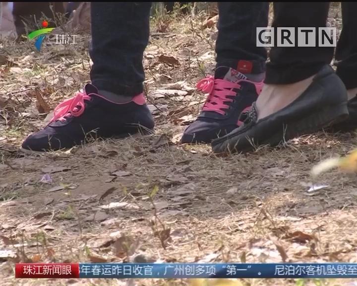 """华农:10万人次赏花 草坪""""很受伤"""""""