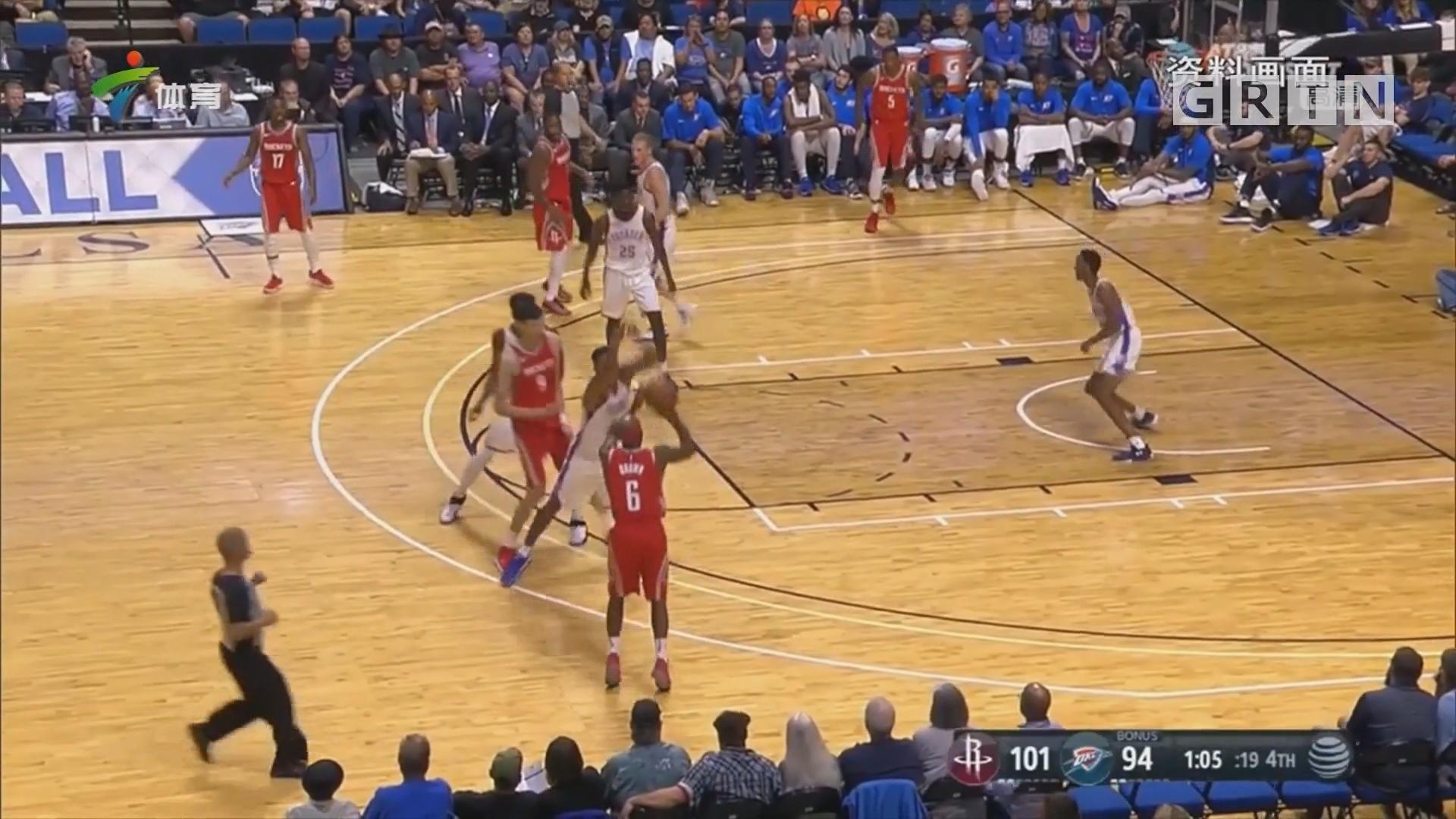周琦重返NBA 迎来表现良机