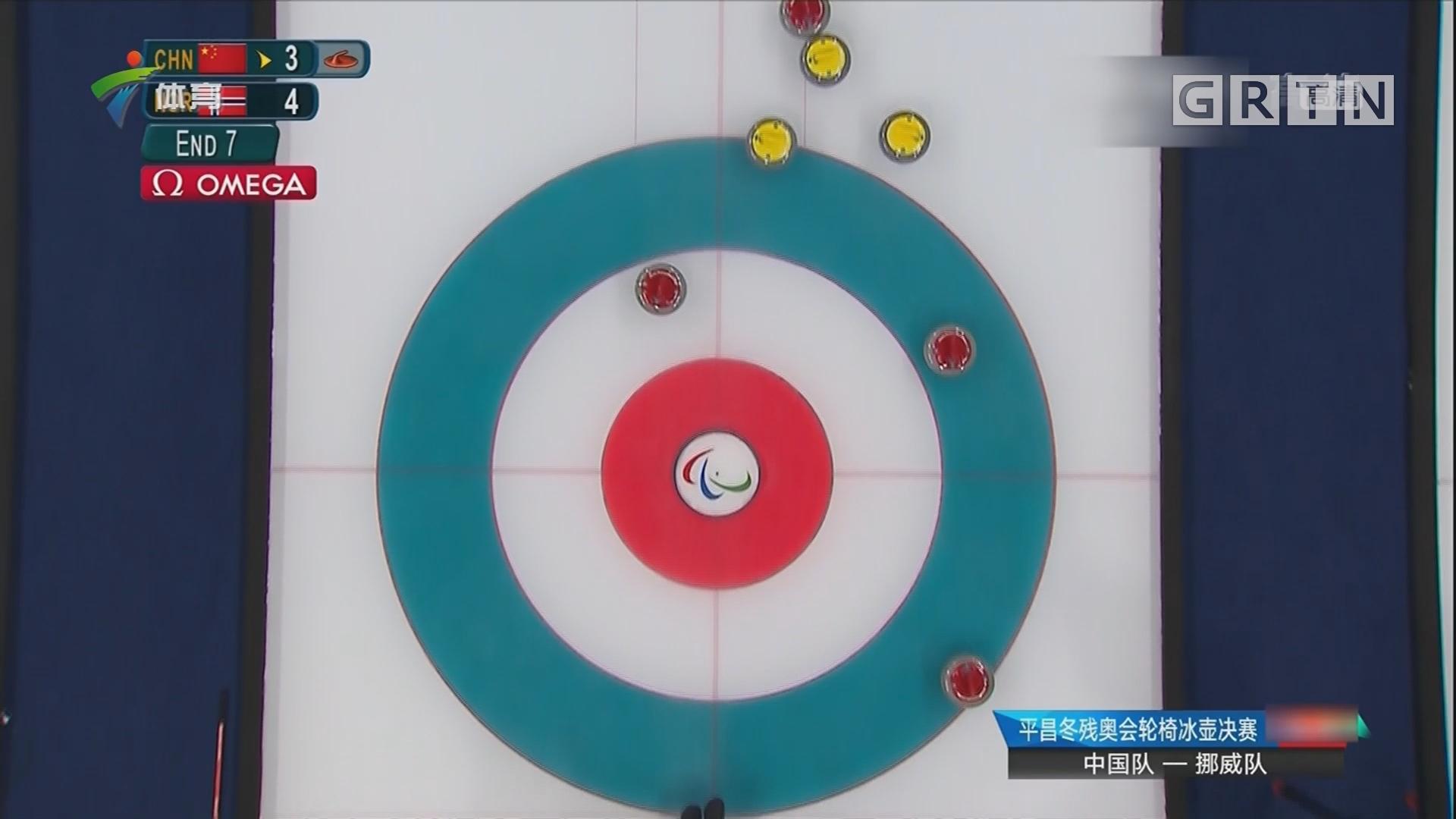 中国轮椅冰壶队夺金 中国实现冬残奥会金牌零突破