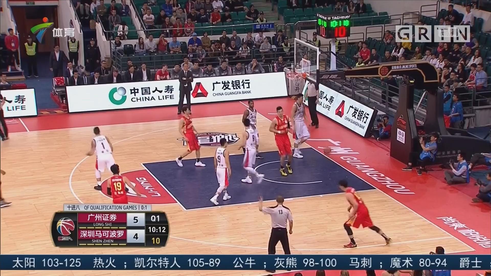篮球评论员朱立宇:广州 vs 深圳