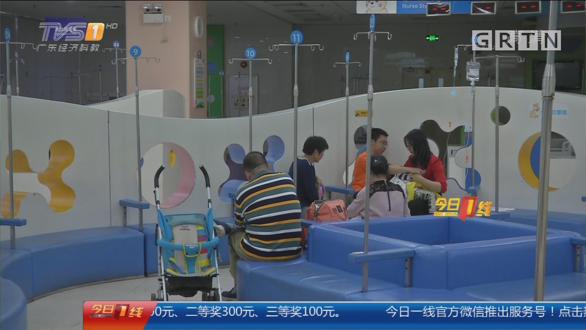 广州:流感高发期来临 家长要留意孩子症状
