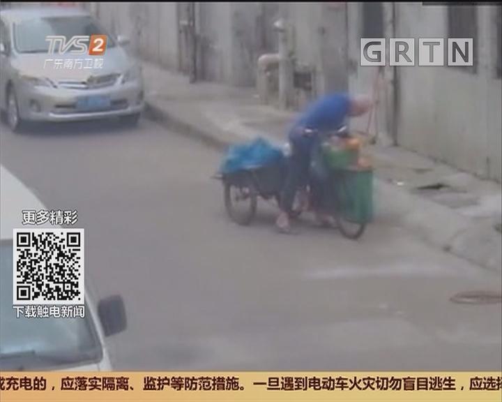 中山三乡:扔垃圾扔掉6万现金 警察帮忙找回