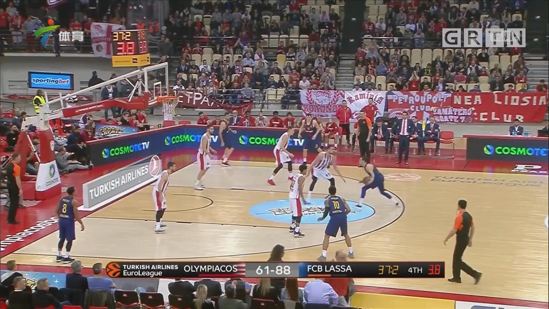 欧洲篮球冠军联赛 巴萨、莎萨基客场获大胜
