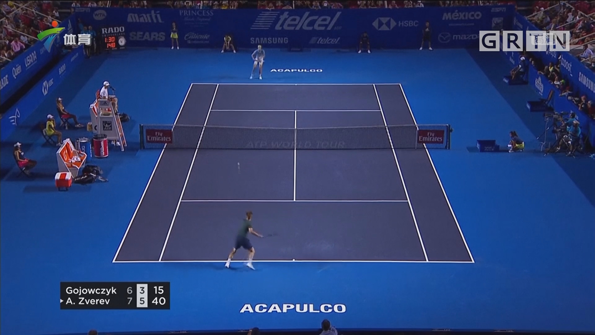 ATP墨西哥赛 兹维列夫力克高约维茨克