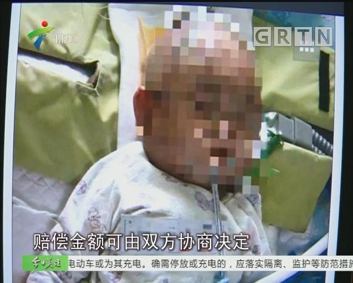 追踪:女婴被天降苹果砸至重伤 肇事者系11岁女孩