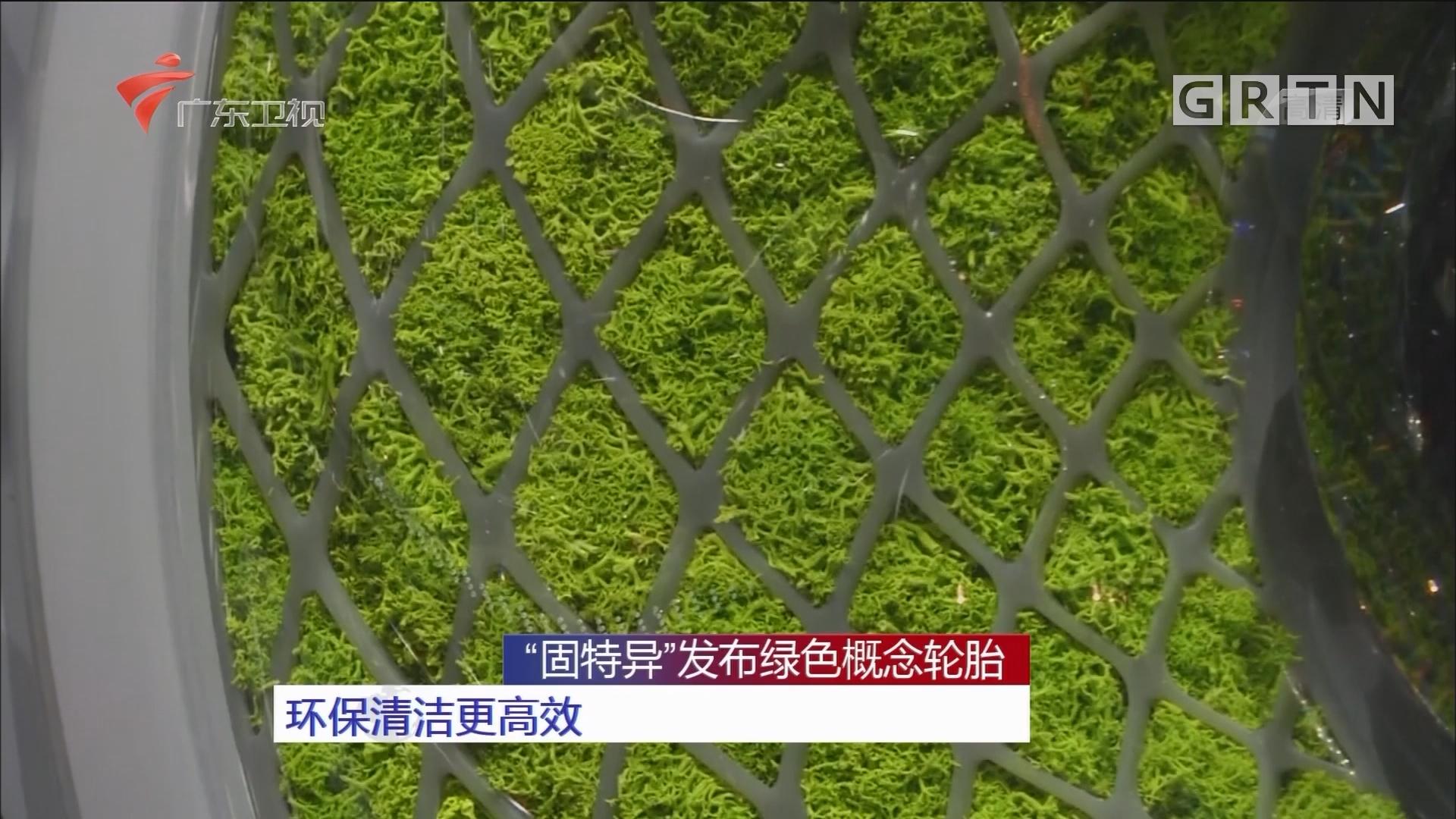 """""""固特异""""发布绿色概念轮胎 环保清洁更高效"""