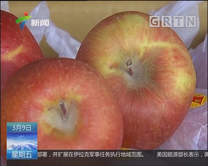 佛山:糖心苹果受热捧 专家教路辨真假