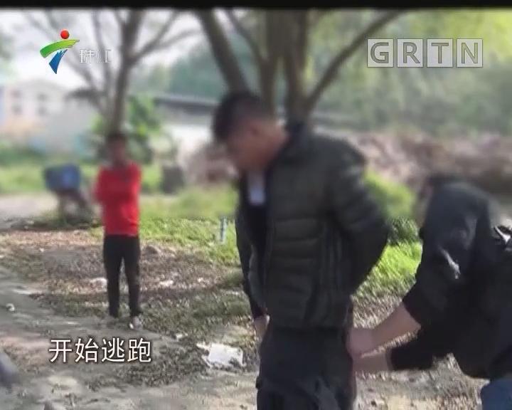 江门:偷狗贼暴力抗法 辅警被撞受伤