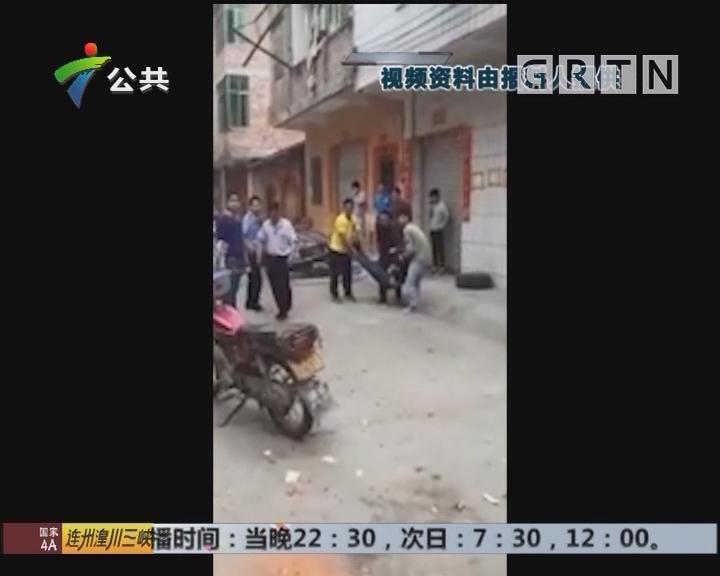 肇庆:街坊齐心救援 昏迷男子被救出送院