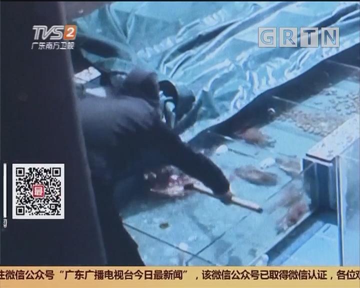 深圳大鹏新区:小偷夜访海鲜街 警方抓获四人