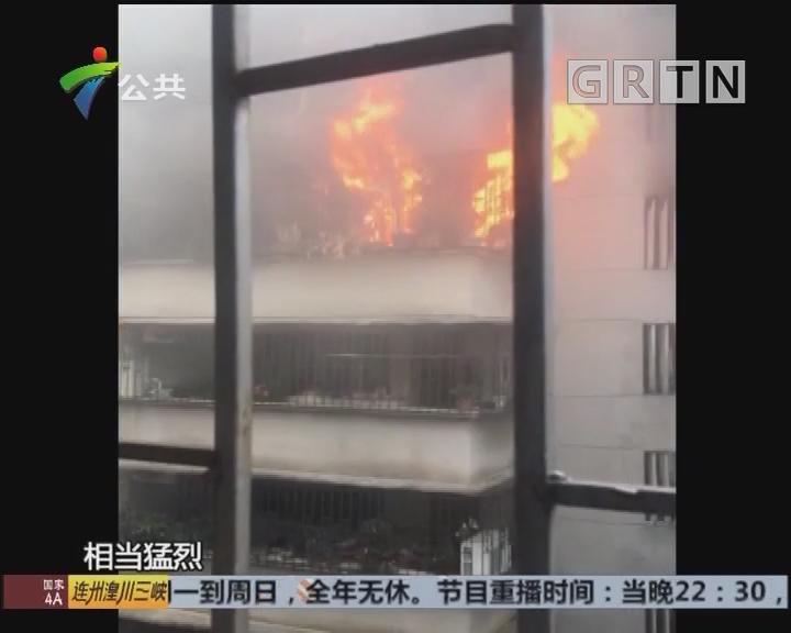 广州:疑因祭拜引火 防火安全勿忽视