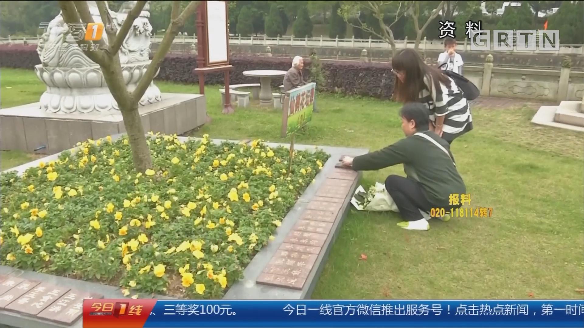 广州:清明高峰期 预计每天逾20万人次进园