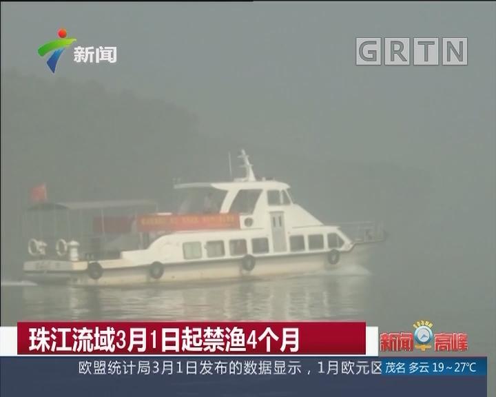 珠江流域3月1日起禁渔4个月