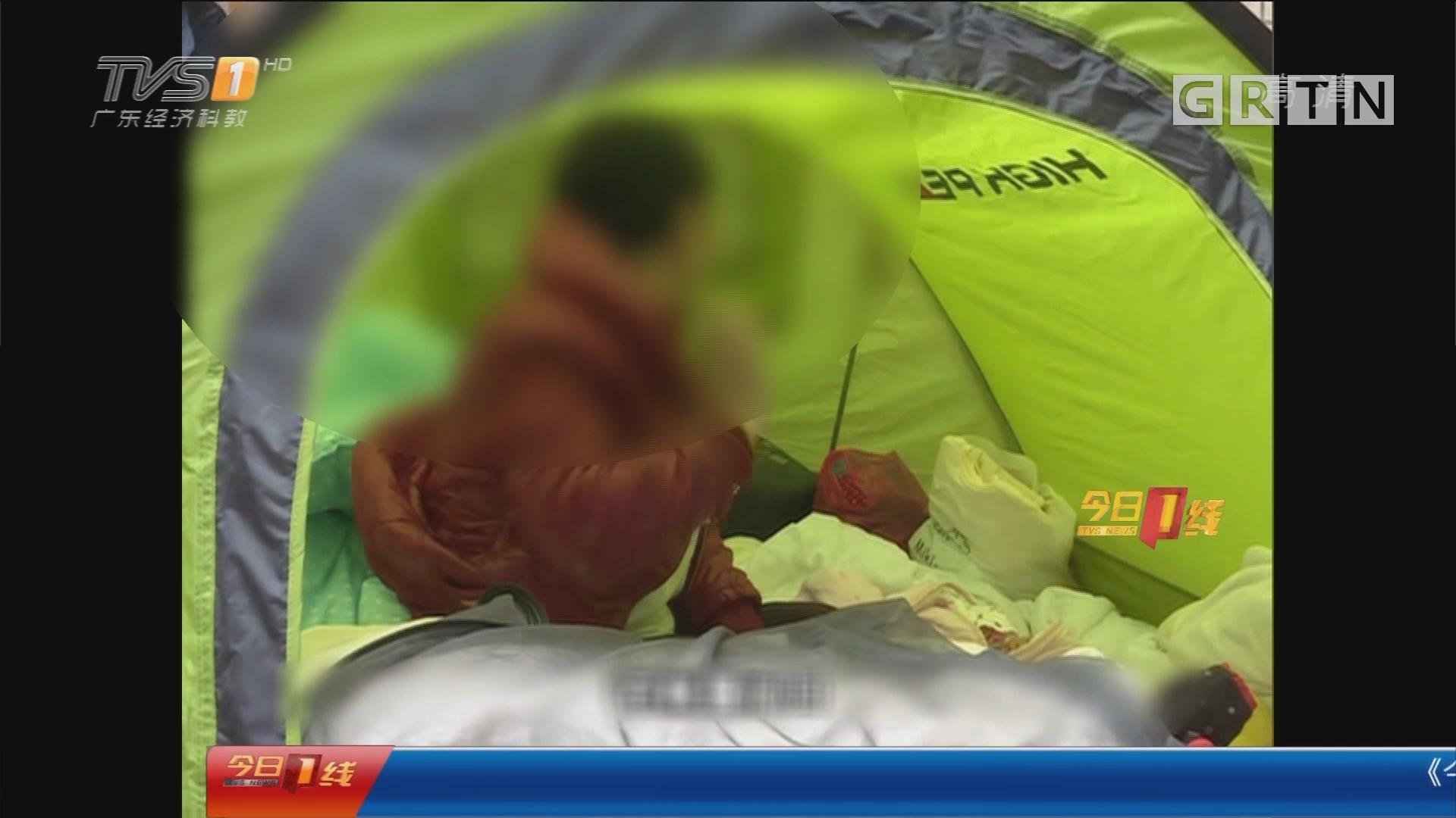 """深圳:她带儿女""""住""""院近两月 为何拒绝救助?"""