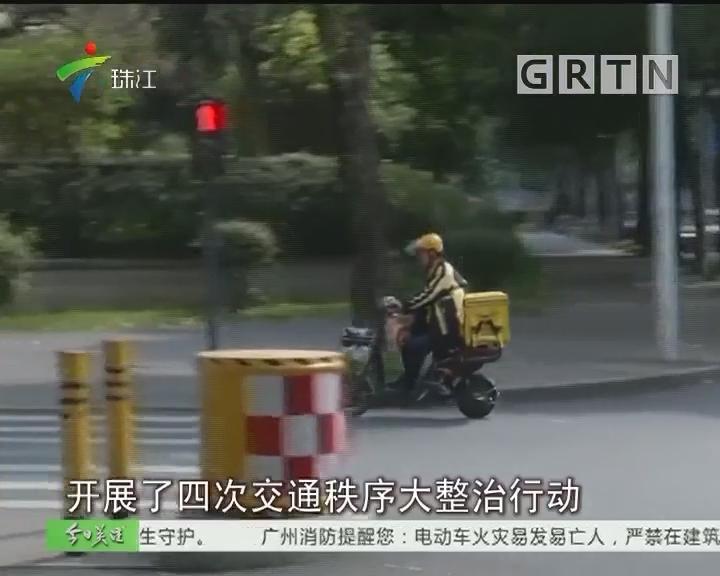 深圳:交警两周内查处外卖电动车违法过万宗