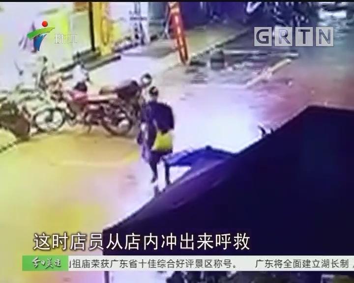 花都:珠宝店夜晚遇劫 警方介入处理