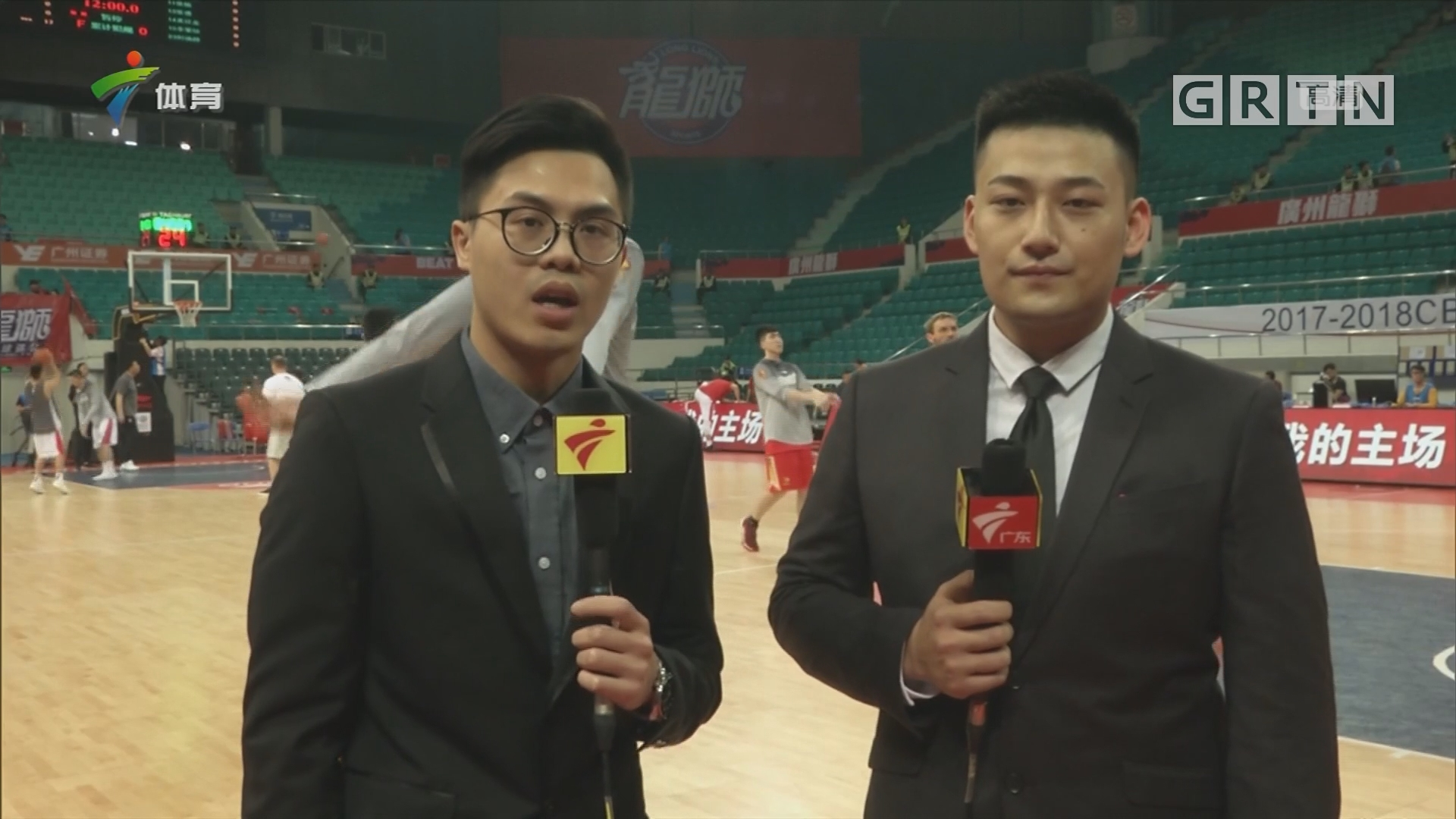 CBA记者现场连线:龙狮 vs 深圳