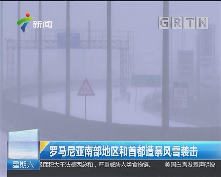 罗马尼亚南部地区和首都遭暴风雪袭击