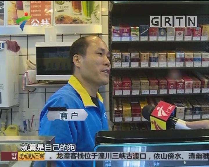 街坊报料:目击男子打狗 怀疑是偷狗团伙