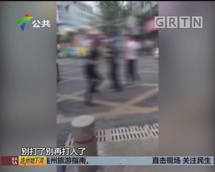 珠海:警方拘留施暴男子 将依法严惩