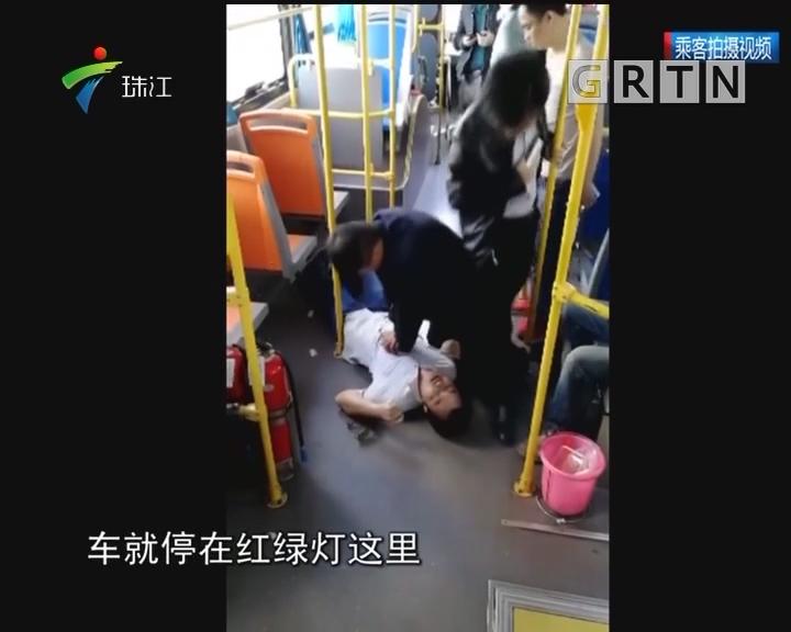 深圳:公交乘客突发癫痫 司机施救抢回一命