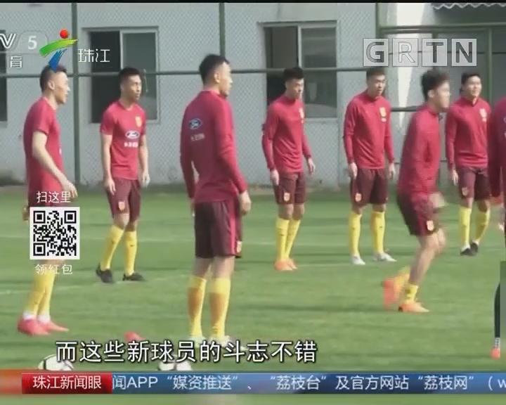 中国杯一触即发 国足全力以赴