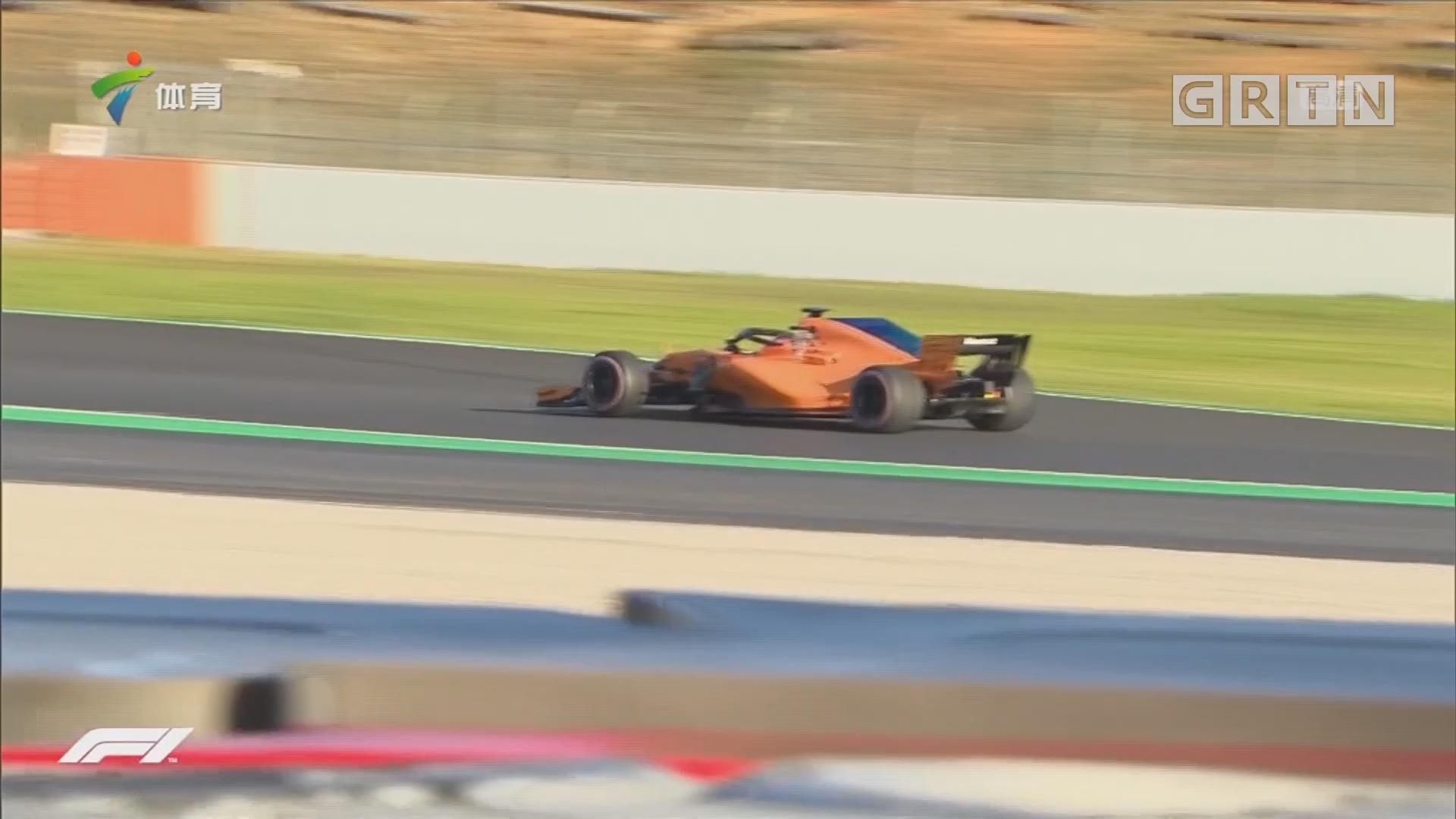 F1季前试车第二轮 维特尔最快